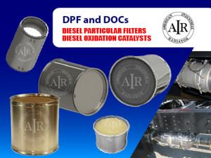 Diesel Particular Filters DPF DOCs